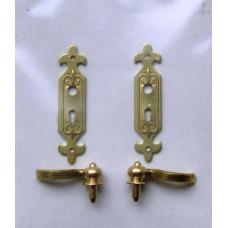 A01B Klassieke deurschilden krukken