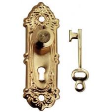 A02B Klassieke deurschilden met knop