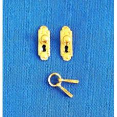 A11 Klassieke deurschilden met knop