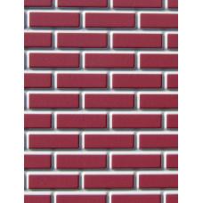 A281 Sheet steentjes helder rood op grijs