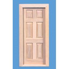 K13 Binnendeur kozijn met 6 panelen