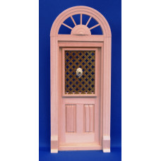 K39A Half rond kozijn met enkele deur