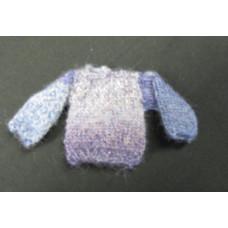 Br.A9 Lila-lichtblauw kleurverloop trui