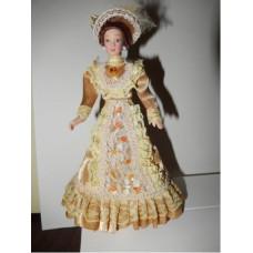 P03 Victorian Lady Beige jurk