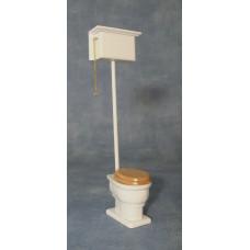 M108 Toilet met hoog hangende stortbak